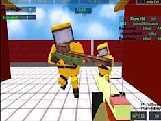 Jogo Strike Blocky Fun Online