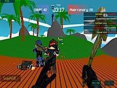 Jogo Blocky Combat Swat 2: Storm Desert