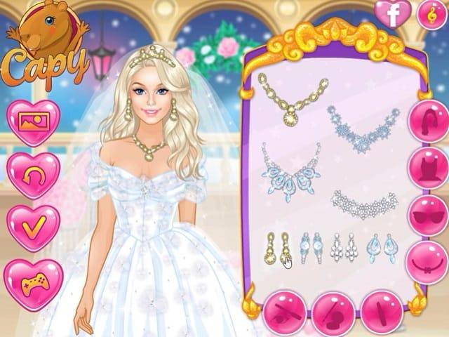 barbie winter wedding jogos da barbie no jogosjogoscom